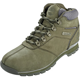 Timberland Splitrock 2 Hiker Shoes Men Dark Green Nubuck